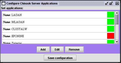 Configuring a new service